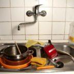 Простая вещь — помыть посуду